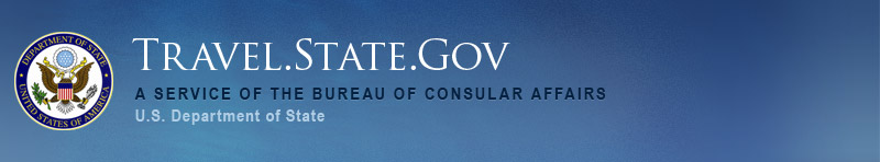 travel.state.gov header image